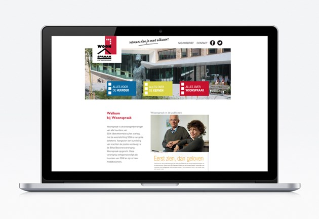 Woonspraak-website